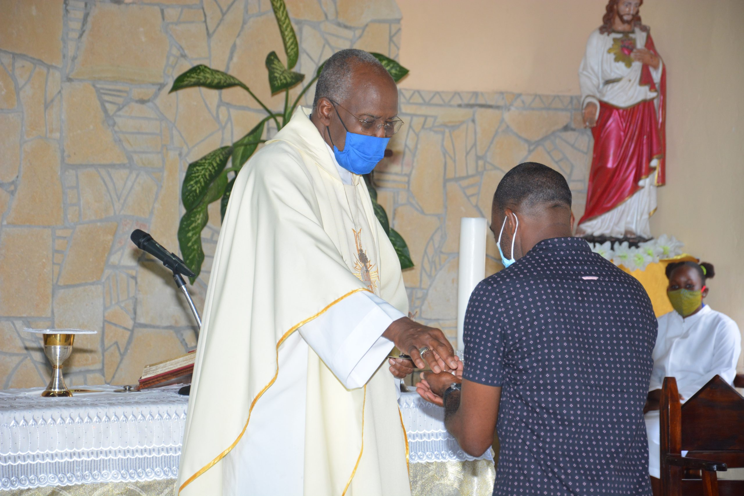 Church Resumes With Bishop On Sister Isles