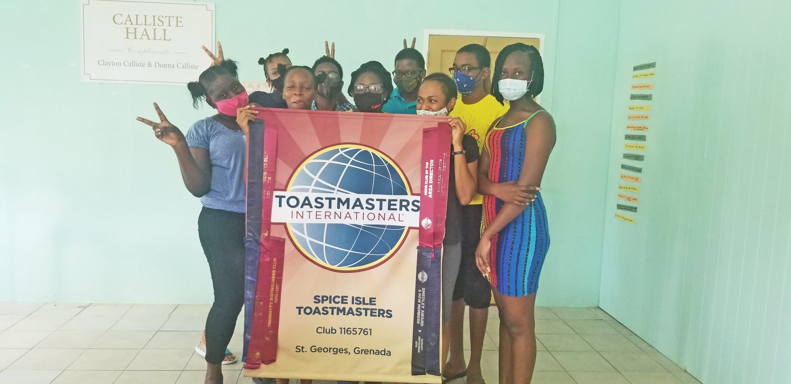 Spice Isle Toastmasters Club Conduct Speech Craft Sessions in St. Mark the Evangelist Parish